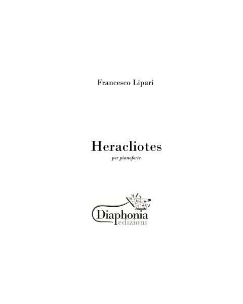 HERACLIOTES for piano
