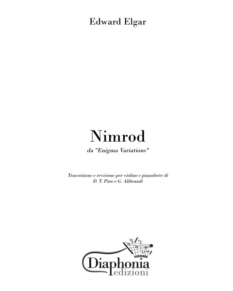 NIMROD for violin and piano