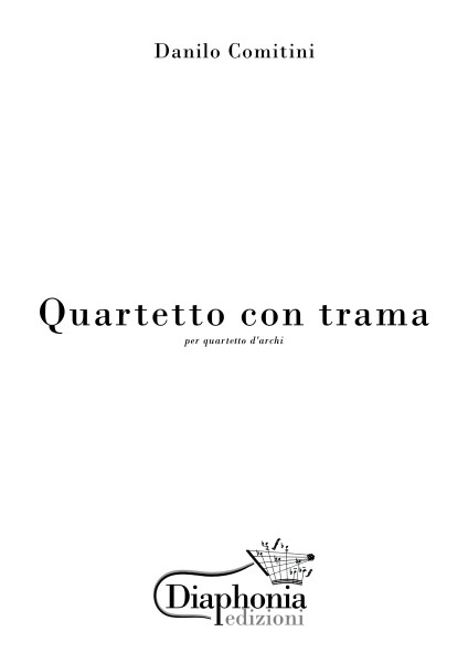 QUARTETTO CON TRAMA per quartetto d'archi [Digitale]