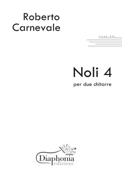 NOLI 4 per due chitarre [Digitale]