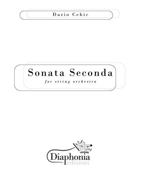 SONATA SECONDA for string orchestra [DIGITALE]