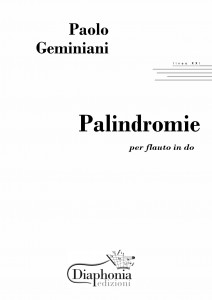 PALINDROMIE per Flauto in do [Digitale]