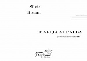 MARIJA ALL'ALBA per soprano e flauto [Digitale]