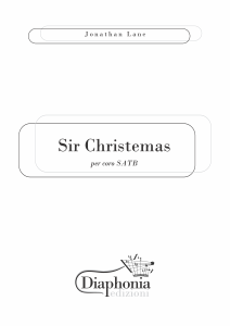 SIR CHRISTEMAS per coro SATB [DIGITALE]
