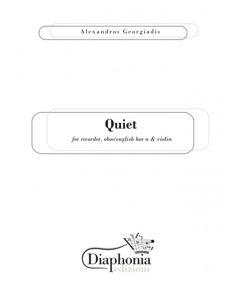 QUIET for recorder, oboe/english horn & violin [DIGITALE]