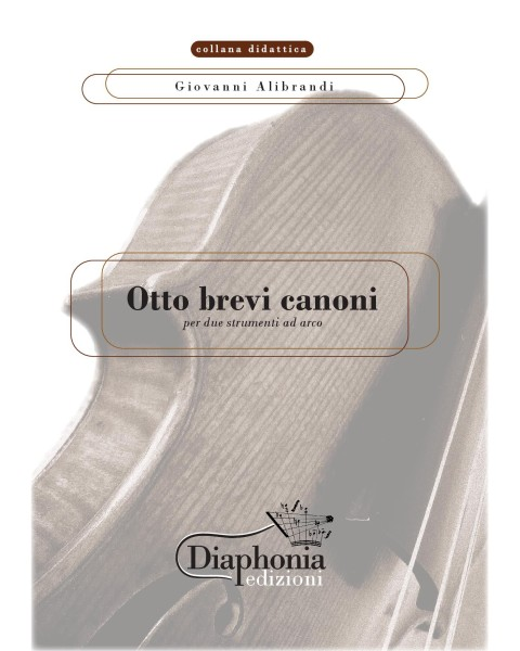 OTTO BREVI CANONI for two string instruments [Digital]