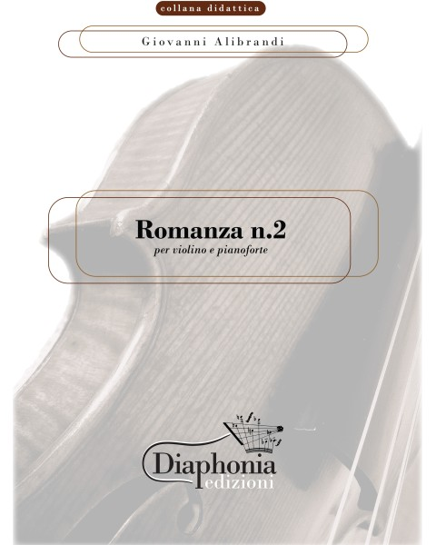 ROMANZA N°2 for violin and piano [Digital]