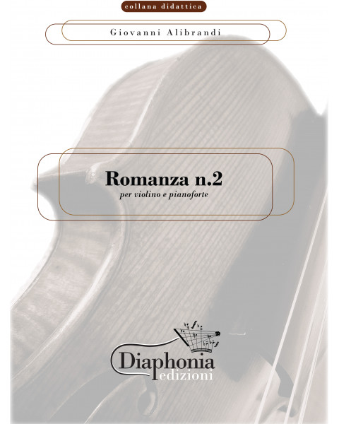 ROMANZA N°2 for violin and piano